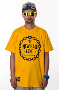 NEW BAD LINE CHAIN YELLOW