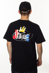 JWP T-SHIRT JWP IS KING BLACK