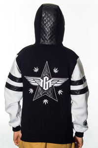 GANJA MAFIA BLUZA ZIP GENERAL LEATHER