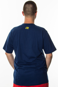 JWP T-SHIRT OFF2 NAVY