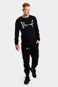 STOPROCENT LONGSLEEVE LS BASE TAG BLACK
