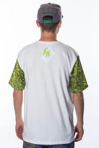 GANJA MAFIA T-SHIRT LEMON HAZE WHITE