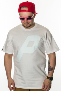 PROSTO T-SHIRT DROPPED ACID WHITE