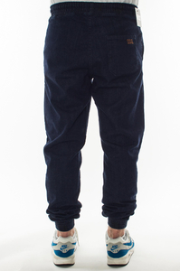 SMOKE STORY GROUP JOGGERY SLIM JEANS HAFT DARK BLUE