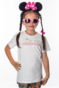 STOPROCENT KIDT T-SHIRT CÓRUSIA WHITE