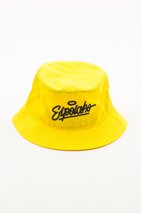 EL POLAKO KAPELUSZ BUCKET HAT HANDWRITTEN YELLOW