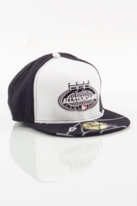NEW ERA FULLCAP NY WHITE-BLACK