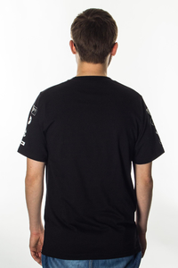 PROSTO T-SHIRT CLOCKWORK BLACK