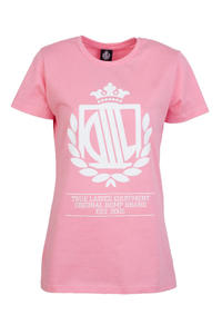 LADY DIIL T-SHIRT LD HARVARD PINK