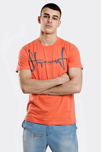 STOPROCENT T-SHIRT TMS SLIMTAG CORAL