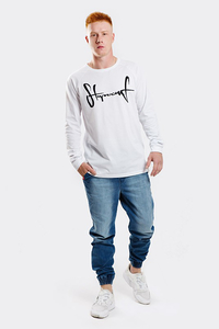 STOPROCENT LONGSLEEVE LS BASE TAG WHITE