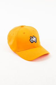 JWP CZAPKA 6PANEL SMALL LOGO ORANGE