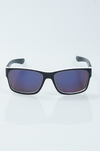NEW BAD LINE OKULARY SPEED BLACK-WHITE MAT BLUE MIRROR 1009
