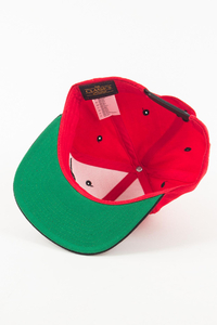 EL POLAKO CZAPKA SNAPBACK HANDWRITTEN RED-BLACK