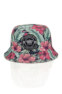 LUCKY DICE BUCKET HAT SUMMER FLOWERS