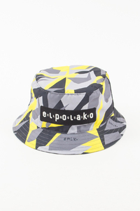 EL POLAKO KAPELUSZ BUCKET HAT TRIANGLE MORO YELLOW