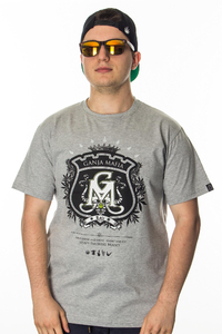 GANJA MAFIA T-SHIRT HERB GREY