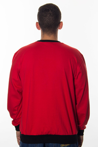 GANG ALBANII LONGSLEEVE RED