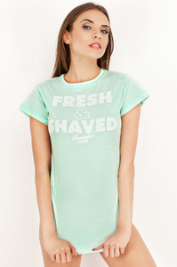 EP.GIRLS T-SHIRT FRESH AND SHAVED MINT