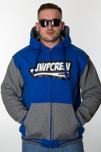 JWP ZIP BLUE-GREY
