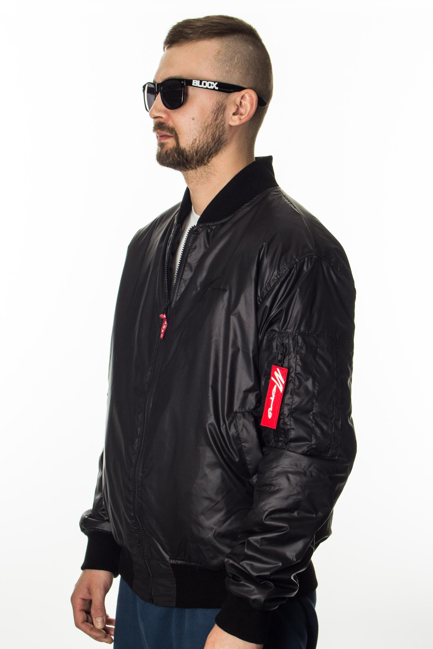 MORO KURTKA PARIS BOMBER BLACK