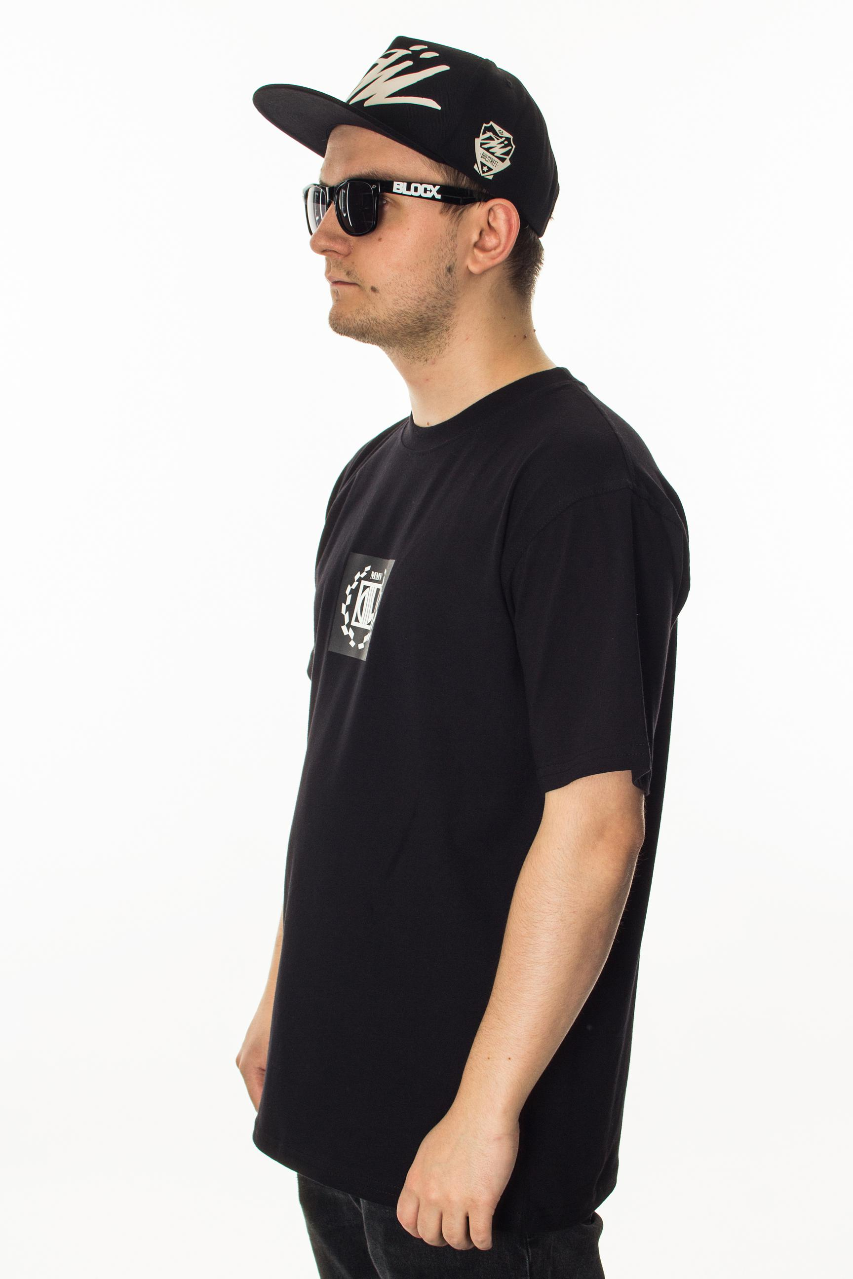 DIIL T-SHIRT LOGO BLACK