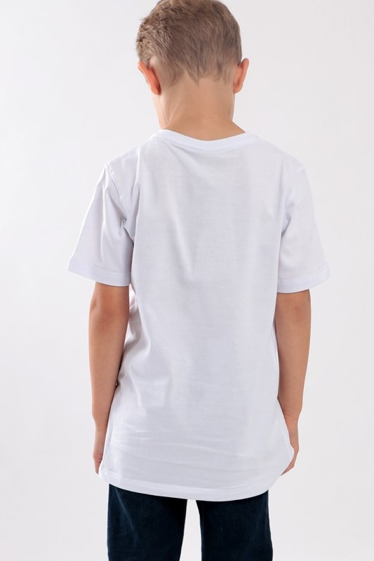 STOPROCENT KIDT T-SHIRT DOWNHILL WHITE