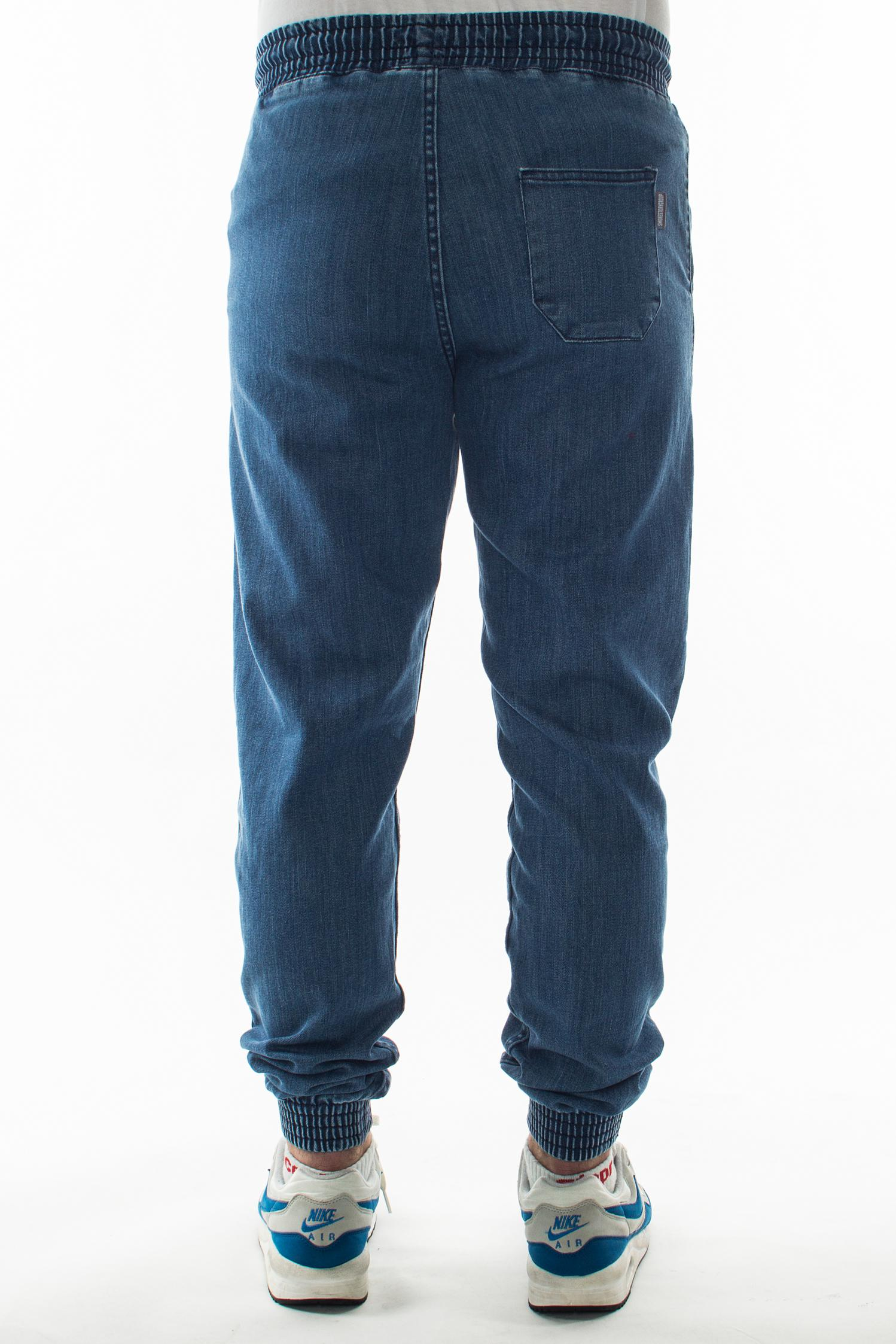 SMOKE STORY GROUP JOGGERY SLIM JEANS LIGHT BLUE