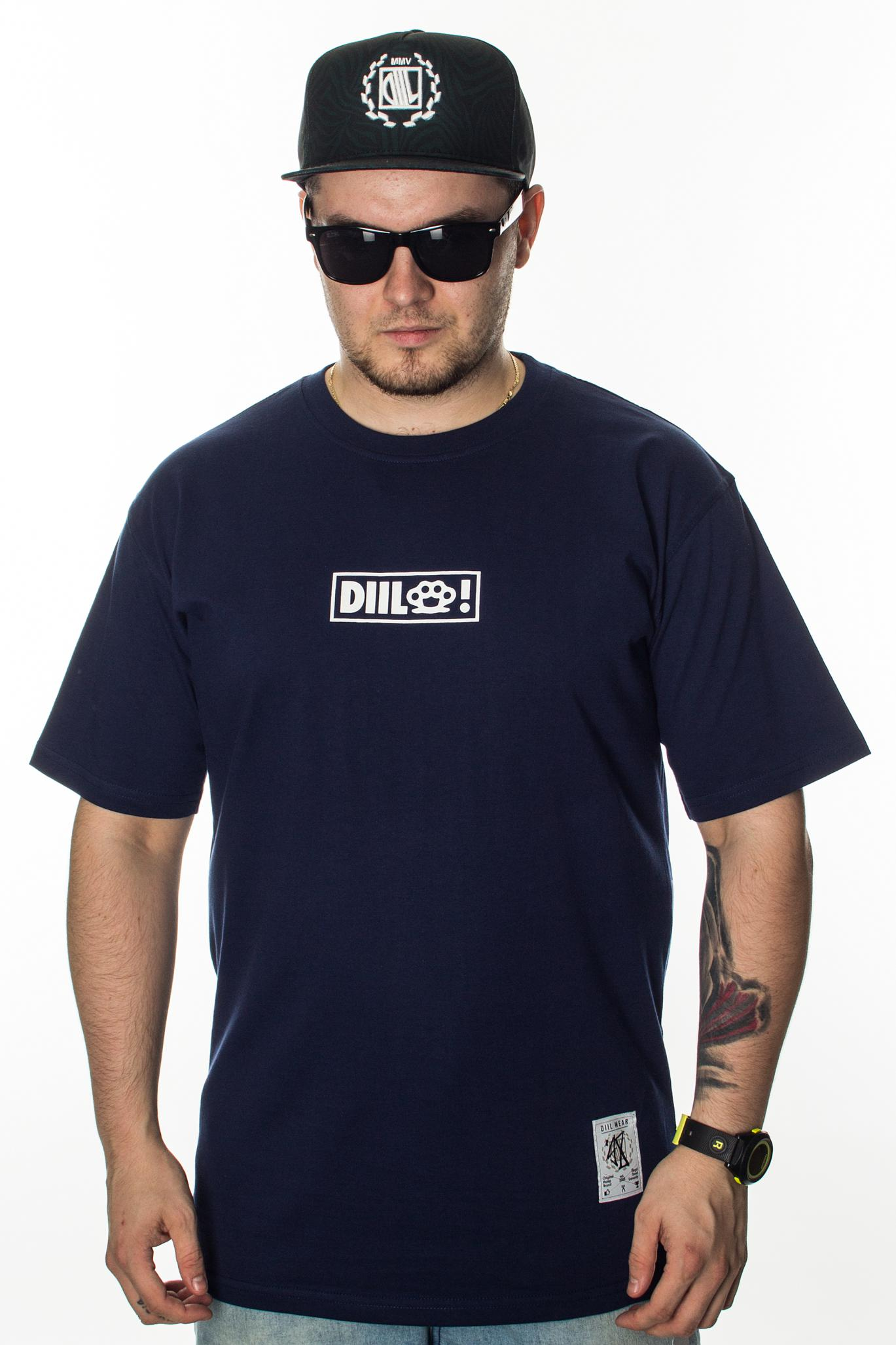 DIIL T-SHIRT SMALL THING NAVY