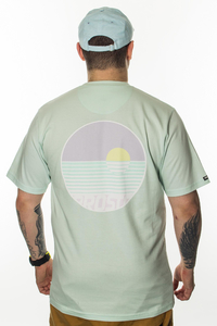 PROSTO T-SHIRT SUNSET ACID GREEN