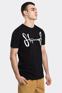 STOPROCENT T-SHIRT TMS BASE TAG BLACK/WHITE)