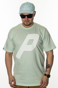 PROSTO T-SHIRT DROPPED ACID GREEN