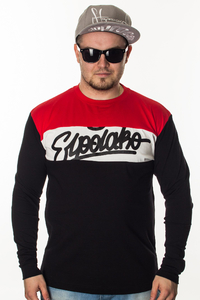 EL POLAKO LONGSLEEVE 3 COLORS WRITTEN BLACK-RED