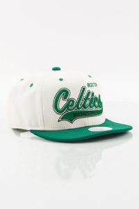 MITCHELL & NESS BOSTON CELTICS WHITE-GREEN