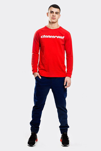 STOPROCENT LONGSLEEVE SIMPLECUT RED