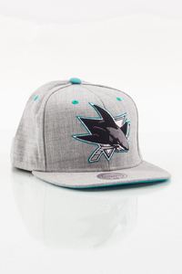 MITCHELL & NESS SAN JOSE SHARKS GREY
