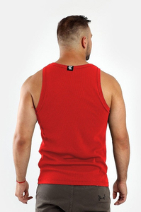 STOPROCENT TANKTOP RIBB CLASSIC16 RED