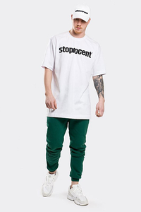 STOPROCENT T-SHIRT TM SIMPLE19 WHITE