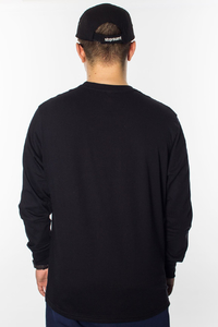STOPROCENT LONGSLEEVE LS TAG BLACK