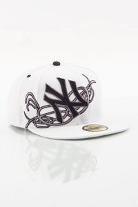 NEW ERA FULLCAP NY WHITE