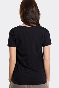 STOPROCENT T-SHIRT TDV FAKJU BLACK