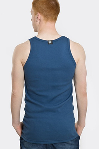 STOPROCENT TANKTOP TMT RIBB LONG TAG17 BLUE