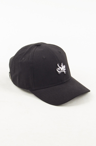 JWP CZAPKA 6PANEL SMALL LOGO BLACK