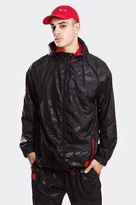 STOPROCENT KURTKA KW CAMO BLACK-RED