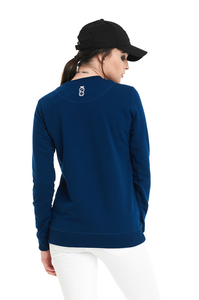LUCKY DICE BLUZA SIMPLE DICE RND GIRL NAVY