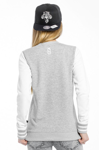 LUCKY DICE BLUZA GIRL NEW CREWNECK GREY