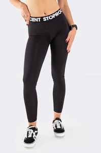 STOPROCENT LEGGINSY BASE BLACK