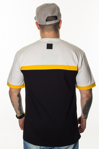 EL POLAKO T-SHIRT 3 COLORS CUT BLACK-WHITE