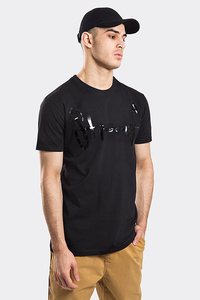 STOPROCENT T-SHIRT TMS BASE TAG BLACK/BLACK