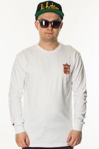 BOR LONGSLEEVE NEW HERB WHITE